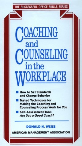 9780814478189: Coaching and Counseling (Successful Office Skills)