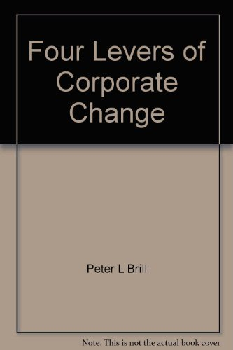 The Four Levers of Corporate Change
