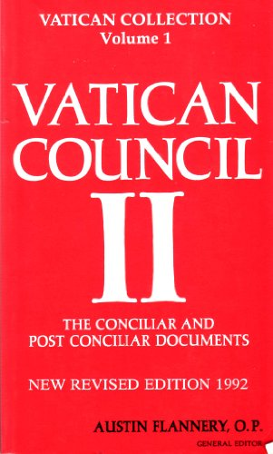 9780814608852: Vatican Council II: The Conciliar and Post Conciliar Documents, Vol. 1