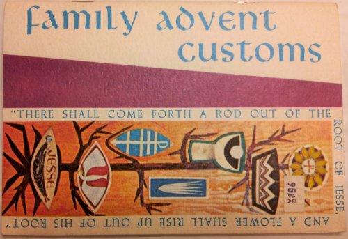 9780814610824: Family Advent Customs