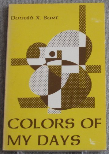 9780814611982: Colours of My Days