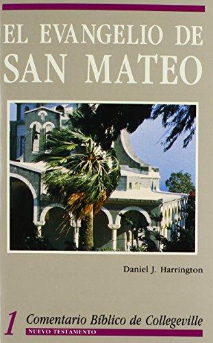 Comentario Biblico De Collegeville New Testament Volume 1: El Evangelio De San Mateo (Spanish ...