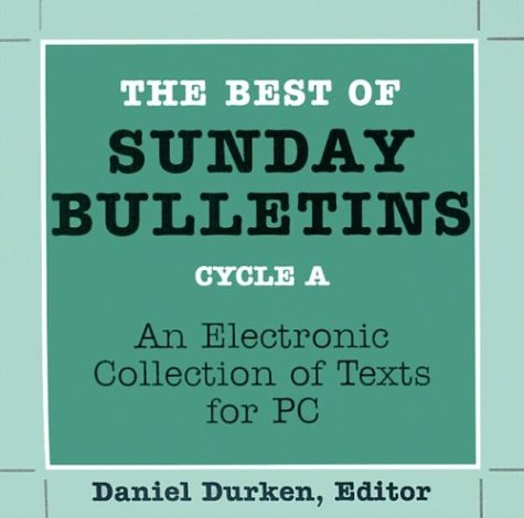 9780814625255: The Best of Sunday Bulletins: An Electronic Collection of Texts for PC