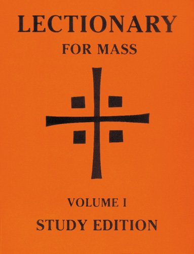 9780814625880: Lectionary for Mass: Volume 1 Study Edition (Lectionary for Mass (Paperback))