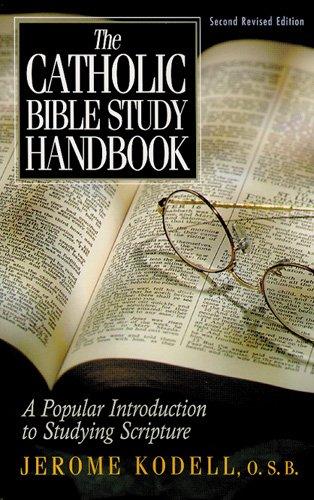 9780814626696: The Catholic Bible Study Handbook