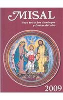 9780814642689: Missal 2009: For All Sundays and Feast Days of the Year (Spanish Edition)