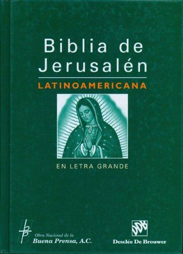 9780814642771: Biblia de Jerusalen Latinoamericana en Letra Grande-OS