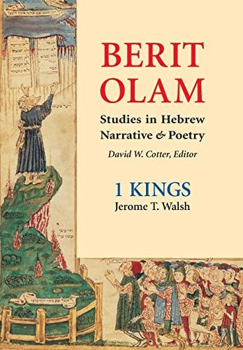 9780814650448: Berit Olam: 1 Kings