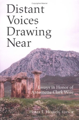 Distant Voices Drawing Near: Essays in Honor