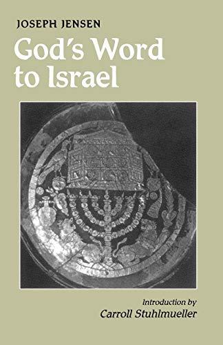 God's Word to Israel: Jensen OSB, Joseph