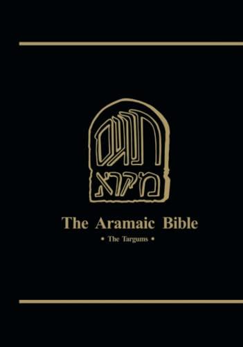 Targums of Job, Proverbs, and Qohelet (Aramic Bible)