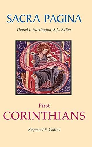Sacra Pagina: First Corinthians (Sacra Pagina Series): Collins, Raymond