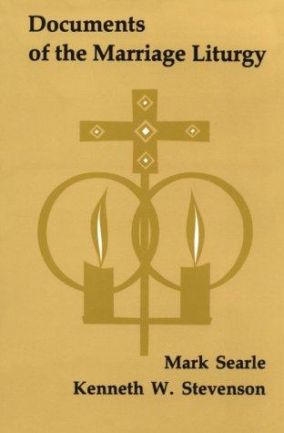 9780814660089: Documents of the Marriage Liturgy (Pueblo Books)