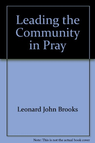 9780814678527: Leading the Community in Pray