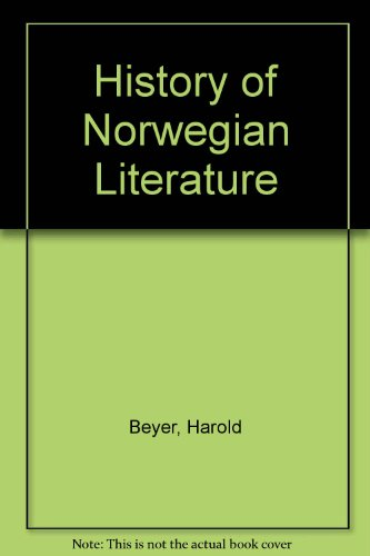 9780814700464: History of Norwegian Literature