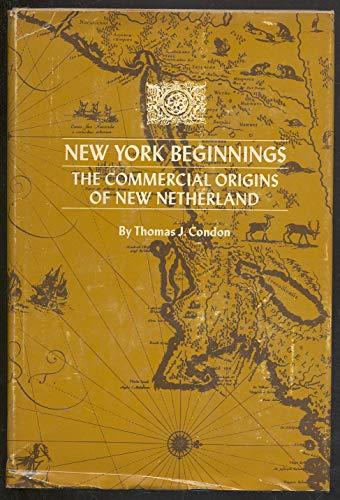9780814700990: New York Beginnings: The Commercial Origins of New Netherland
