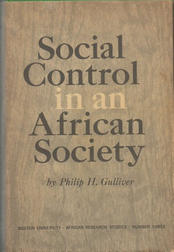 9780814701768: Social Control in an African Society: A Study of the Arusha: Agricultural Masai of Northern Tanganyika