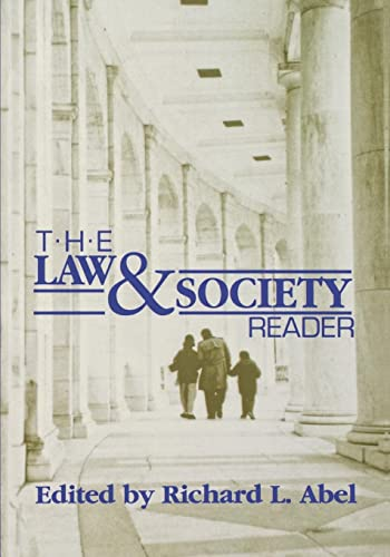 9780814706176: The Law and Society Reader