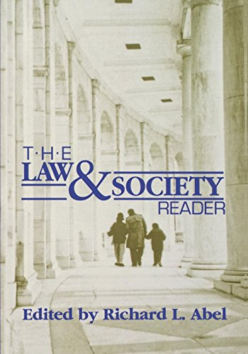 9780814706183: The Law and Society Reader