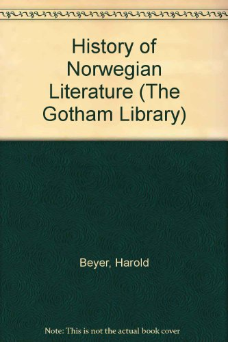 9780814710234: A History of Norwegian Literature (The Gotham Library)