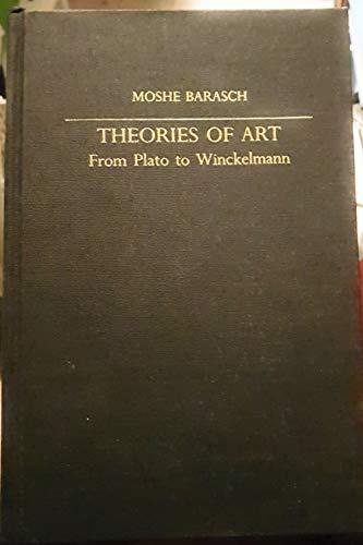 9780814710609: Theories of Art: From Plato to Winckelmann