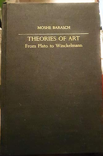 9780814710609: Theories of Art: From Plato to Winckelmann