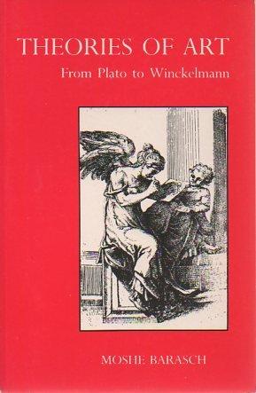 9780814710616: Theories of Art: From Plato to Winckelmann