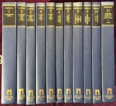 The Works of Charles Babbage (11 Volume Set): Babbage, Charles