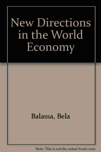 9780814711286: New Directions in the World Economy