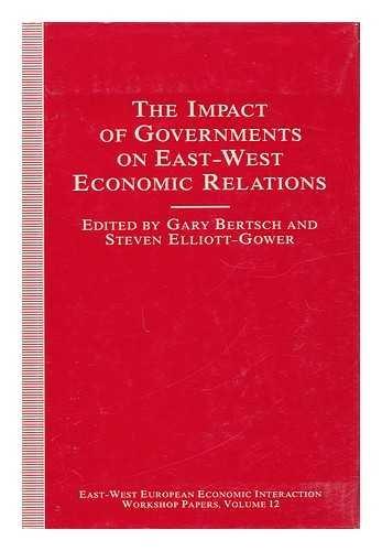 Impact Govts Ew Econ Relation CB: Gary K. Bertsch