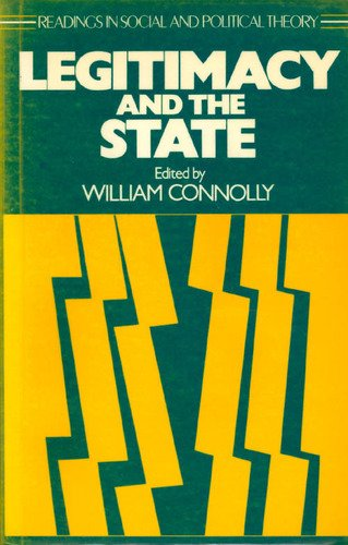Legitimacy and the State: Connolly
