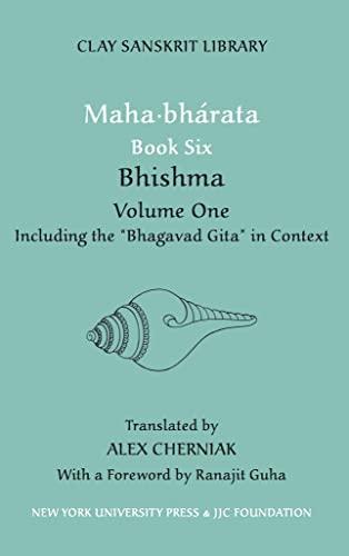 9780814716960: Maha-bharata: Bhishma Bk. 6, v. 1 (Clay Sanskrit Library)