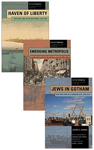 9780814717318: City of Promises: A History of the Jews of New York, 3-volume box set