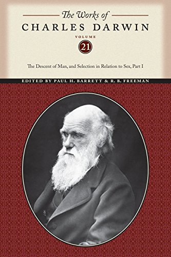 9780814718193: The Works of Charles Darwin, Volume 21: The Descent of Man, and Selection in Relation to Sex (Part One)