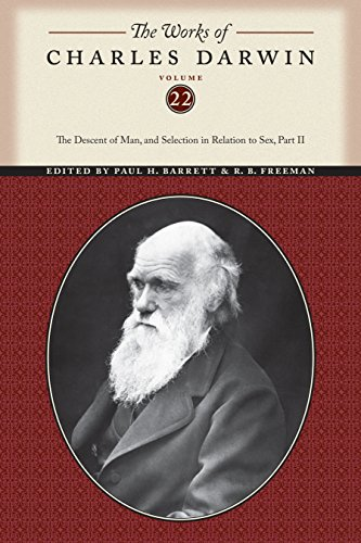 9780814718209: The Works of Charles Darwin: The Descent of Man, and Selection in Relation to Sex, Volume 22 Part 2