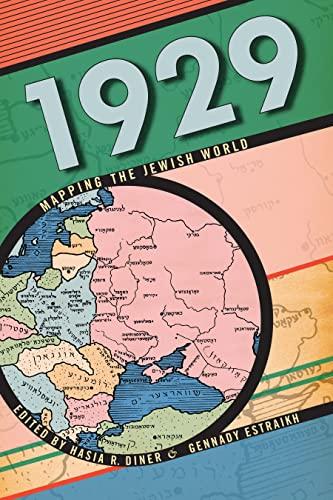 9780814720219: 1929: Mapping the Jewish World (Goldstein-Goren Series in American Jewish History)