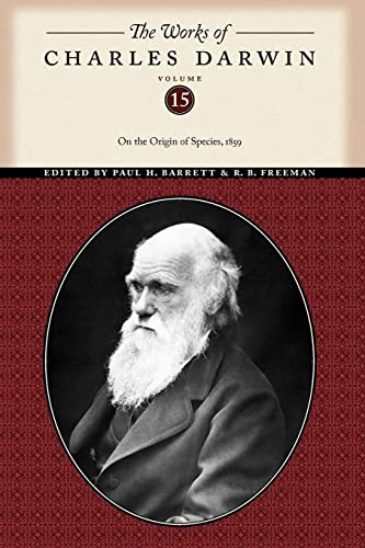 The Works of Charles Darwin, Volume 15: On the Origin of Species, 1859 (0814720587) by Darwin, Charles