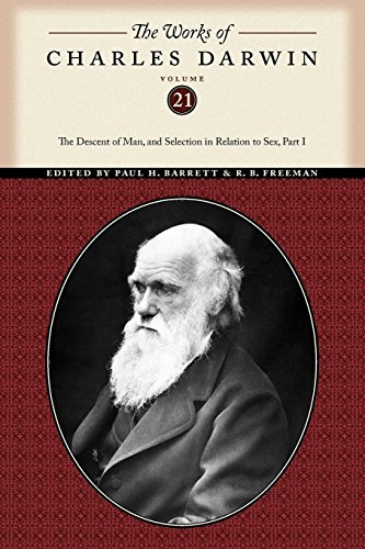 9780814720646: The Works of Charles Darwin, Volume 21: The Descent of Man, and Selection in Relation to Sex (Part One)