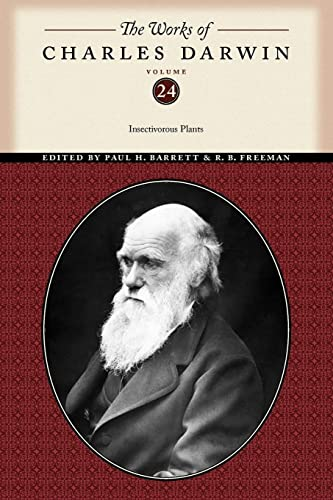 9780814720677: The Works of Charles Darwin, Volume 24: Insectivorous Plants