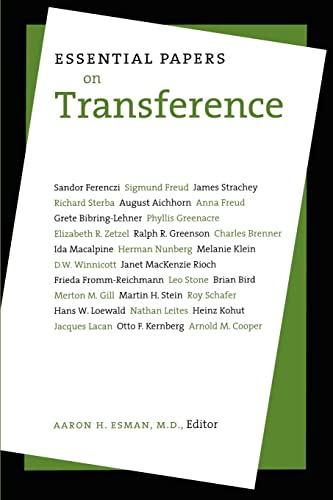 Essential Papers On Transference (HARDBACK FIRST EDITION, FIRST PRINTING FROM THE LIBRARY OF PSYC...
