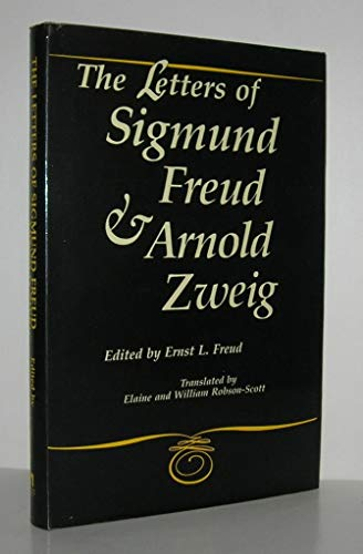 9780814725849: The Letters of Sigmund Freud and Arnold Zweig