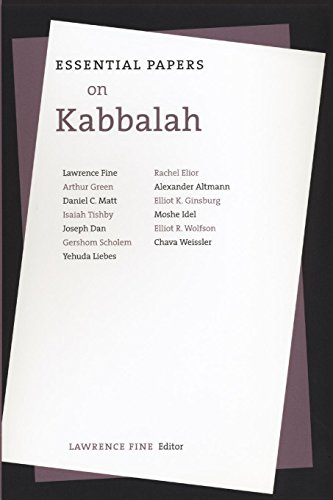 9780814726297: Essential Papers on Kabbalah (Essential Papers on Jewish Studies)