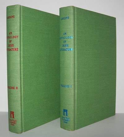 9780814729533: An Anthology of Irish Literature (2 Volume Set)