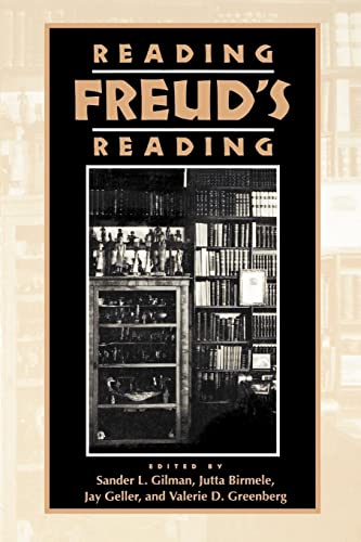 Reading Freud's Reading (Literature & Psychoanalysis S)
