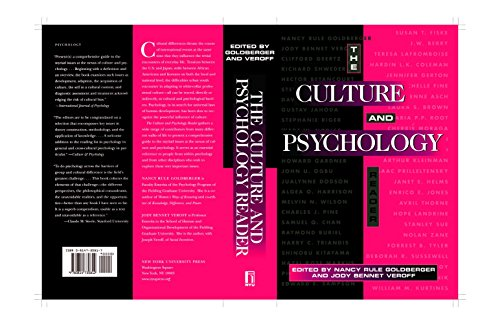 9780814730805: The Culture and Psychology Reader