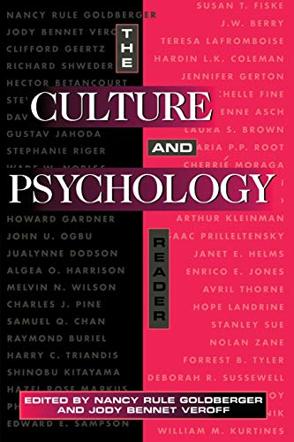 9780814730812: The Culture and Psychology Reader