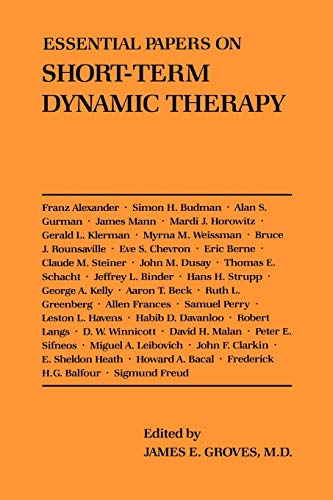 9780814730836: Essential Papers on Short-Term Dynamic Therapy (Essential Papers on Psychoanalysis)