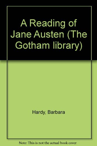 9780814733974: A Reading of Jane Austen (The Gotham library)