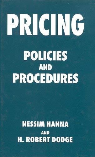 9780814735176: Pricing: Policies and Procedures