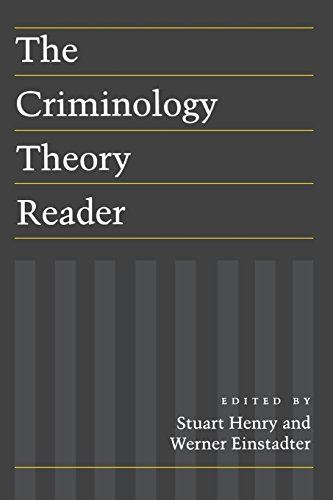 9780814735503: The Criminology Theory Reader